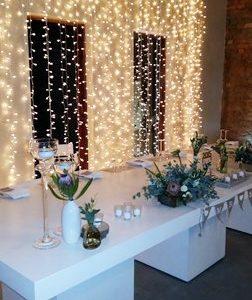Fairy lights backdrop (2)